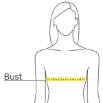 How to Measure for Womens's Short Sleeve Shirt Sizes